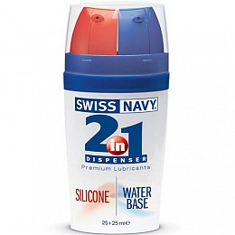 Смазка 2в1 MD Science Swiss Navy Silicone/Water Based 50 ML