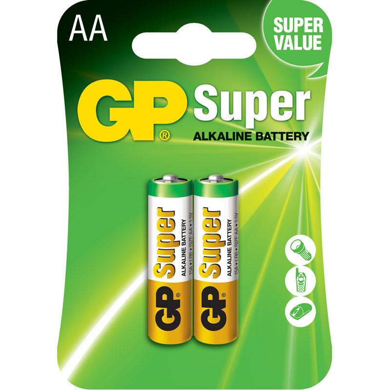 Батарейки GP Super alkaline АА