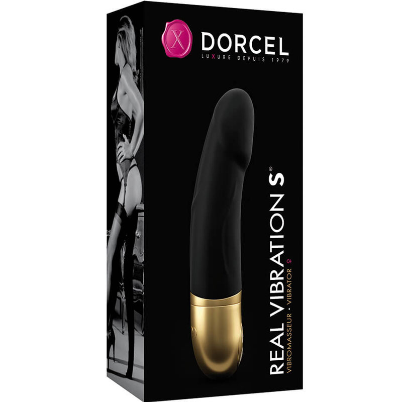 Вибратор Marc Dorcel Real Vibration S, золото